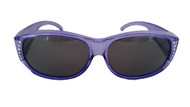 Polarized fit over Sunglasses purple