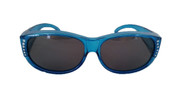polarized fit over sunglasses blue