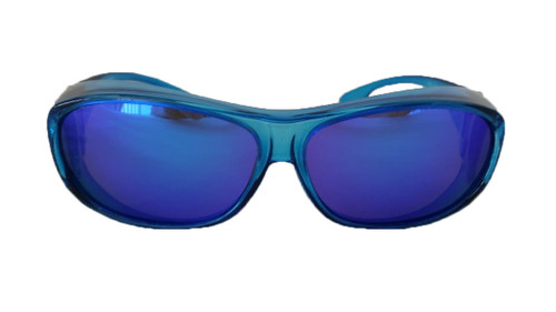 polarized fit over sunglasses mirrored lenses