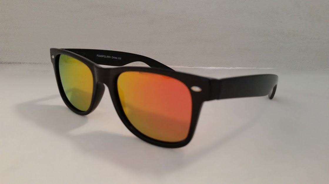 99cdb2270f3 polarized gold mirrored wayfarer sunglasses. Image 2. Image 3. See 2 more  pictures