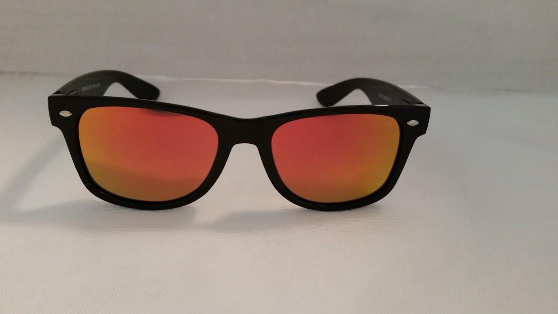 bc4969d988e Polarized Orange Mirrored WF Style Sunglasses.  19.95. Click here to add a  description