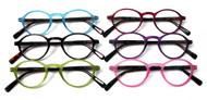 Lizzie Oval plastic women's reading glasses