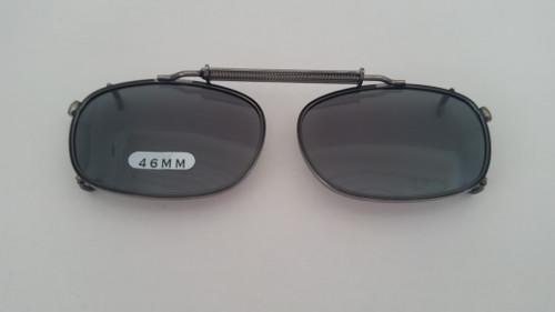 Child's Oblong Polarized Clip On Sunglasses