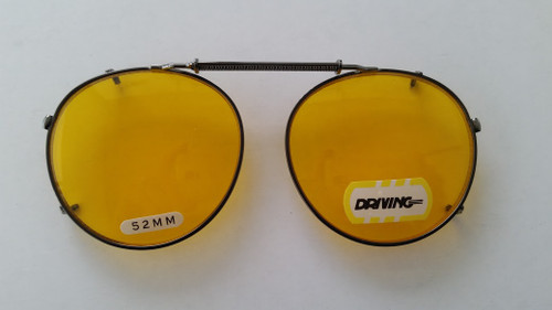 Night Driving Clip On glasses 52mm