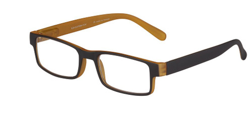 Designer Rectangular plastic reading glasses for men