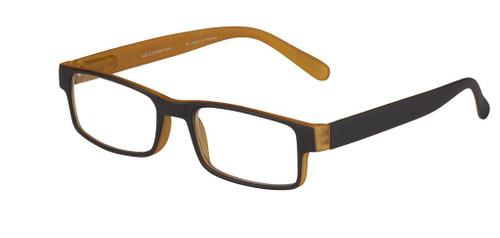 Designer Rectangular plastic reading glasses for men