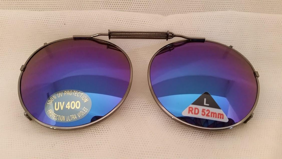 Clip-on Clip on 100/% UV400 Protection Polarized Rectangle Sunglasses Unisex 1040
