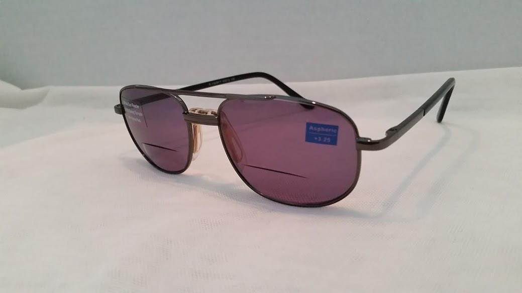 d120208164 Pilot Bifocal Sun Reading Glasses 3.25 4.00 - EyeNeeds