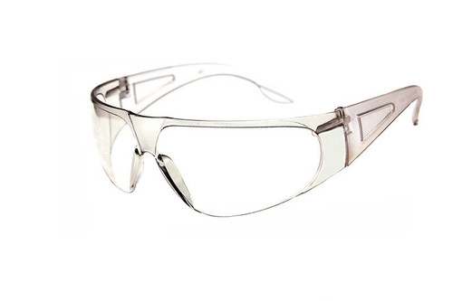 Bifocal clear safety glasses