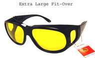 Over Glasses Polarized Night Driver  XL