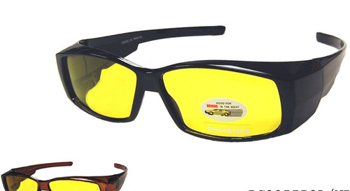 Polarized Night Drivers Fit Over Sunglasses