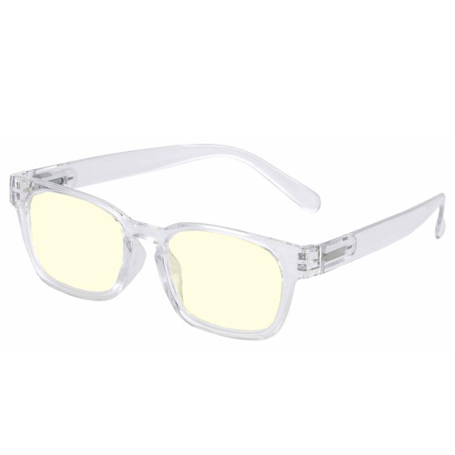 Clear Plastic Frame with anti-reflective lenses