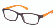 Unisex plastic bifocal reading glasses