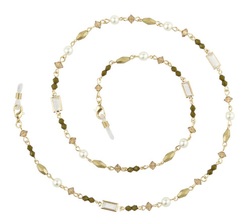 Willow gold eyeglass chain
