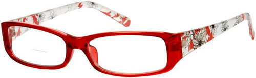 Amy Bifocal Reading Glasses Women / Red