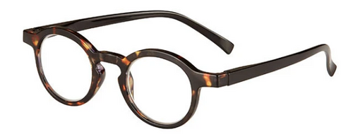 Saratoga Round Tortoise Shell Low Power Reader .75