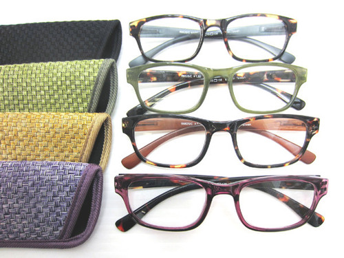 Amelia full plastic frame reading glasses