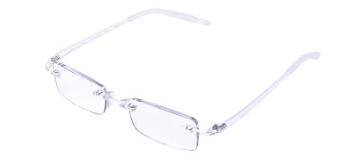 Visualites No Magnification computer blue light filtering glasses
