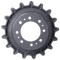 Bobcat T630 2-Speed Drive Sprocket Top View - Part Number: 7196807
