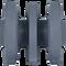 Bobcat MT52 Bottom Roller Top View - Part Number: 7109409