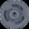 Bobcat MT55 Idler Wheel Side View - Part Number: 7109408