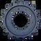 John Deere 333D 10 Bolt Hole Drive Sprocket Side View - Part Number: T254141