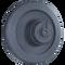 Kubota SVL75 Rear Idler  Side View  - Part Number: V0511-24103