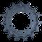 Kubota SVL75-2 Drive Sprocket  Side View  - Part Number: V0511-21110