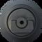 Kubota KX161-2 Bottom Roller  Side View  - Part Number: RD201-21700