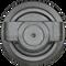 Kubota KX080-3 Bottom Roller  Side View  - Part Number: RD809-21703