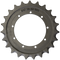 Takeuchi TB135 Drive Sprocket  Side View  - Part Number: 04710-0600
