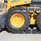 10x16.5 Steel Skid Steer Over Tire Tracks
