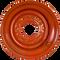 Kubota SSV65 8 Lug Skid Steer Wheel for 10x16.5 Skid Steer Tires Front View