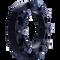8 Lug 2 Inch Skid Steer Wheel Spacer 8x10.75