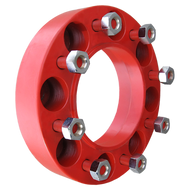 8 Lug 2 Inch Red Skid Steer Wheel Spacer 8x8