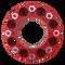 8 Lug 2 Inch Red Skid Steer Wheel Spacer 8x8 Front