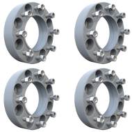 8 Lug 2 Inch Gray Skid Steer Wheel Spacer 8x8 Set