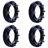 8 Lug 2 Inch Skid Steer Wheel Spacer 8x10.75 Set