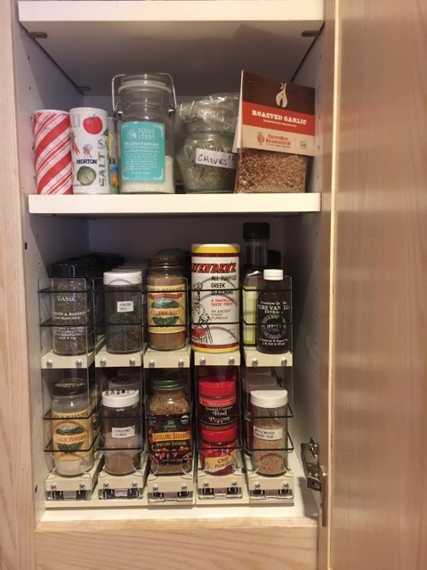 Easy Install Spice Rack