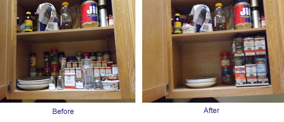 Cabinet Organization - Before and After