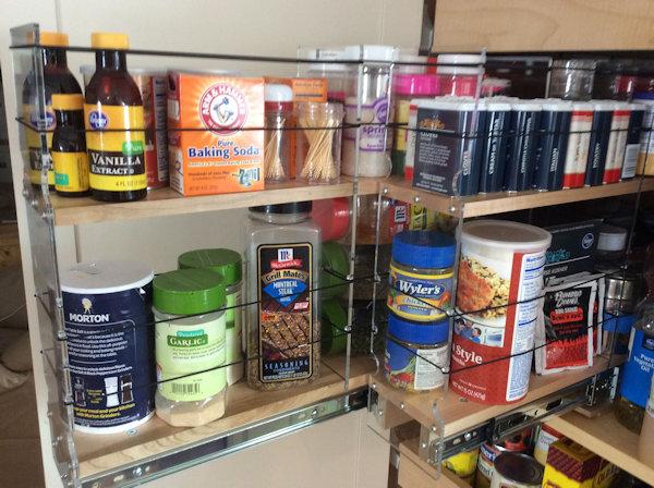Deep Cabinet Storage Full Access