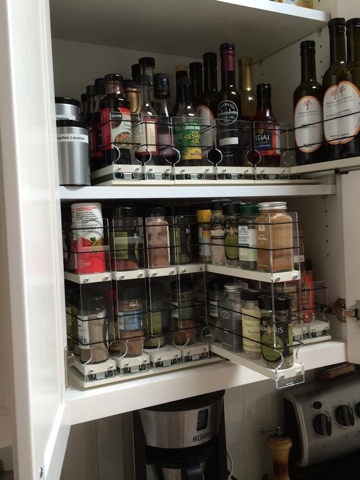Organized Spice Storage