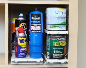 Organize Garage Supplies