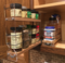 """23x1.5x11 Spice Rack Combo Drawers - 2"""" Drawer Fully Extended"""