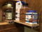 """23x1.5x11 Spice Rack Combo Drawers - 3.25"""" drawer extended"""