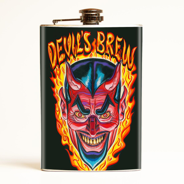 Evil Devil's Brew Flask-OUT OF STOCK -