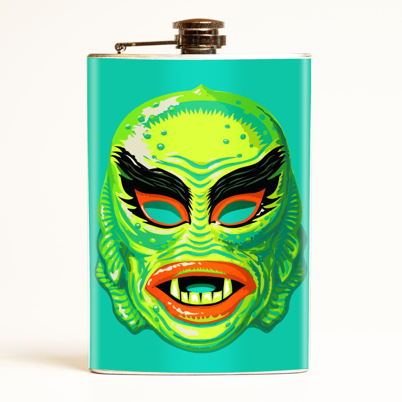 Fish Face Mask Flask-OUT OF STOCK -
