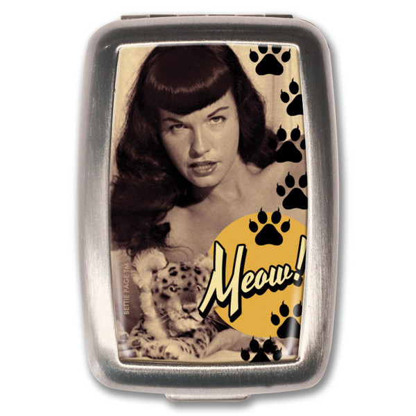 Bettie Page Meow! Pill Box -