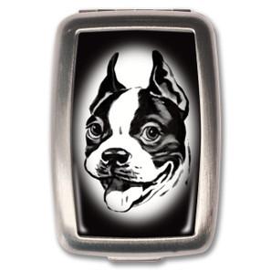 Boston Terrier Pill Box - 0641938654974