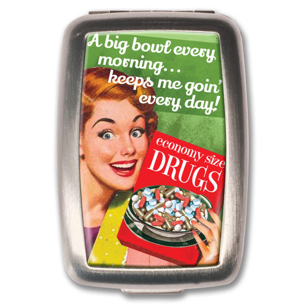 Keeps Me Going Pill Box -